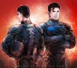 Pacific Rim AU - SuperBat by Haining-art