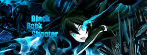 Black rock shooter signature by NekoNekos