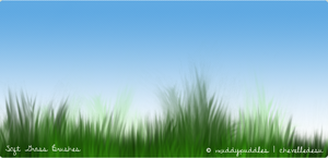 Soft Grass Brushes by muddypuddles