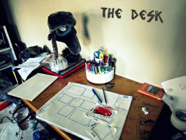 My Drawing Table by JL0G4N