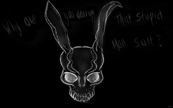 Frank the Bunny by WolfPawzArt