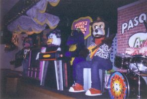 Chuck E. Cheese's band by DJStrife