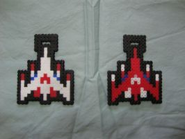 Galaga Sprite Badges 1 by KennyKitsune
