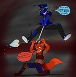 Clash of personality by SternNightGuard