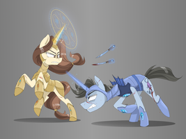 Fight by MyMineAwesome