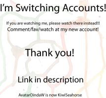 Switching accounts by AvatarOindaW
