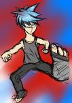 super fighter kicker dude xD by NinjaXaro
