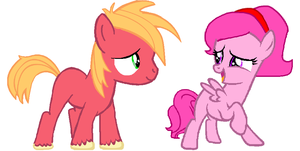 MLP Request - Little Macon and Painterfly by Appimena