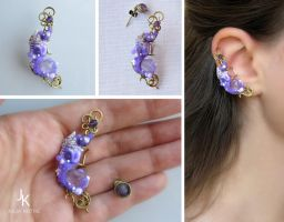 Ear cuff In the cave of the mountain king by JSjewelry