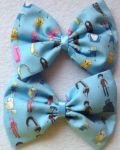 Adventure time hair bow by messypink
