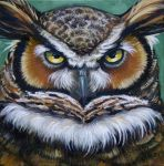 Great Horned Owl by HouseofChabrier
