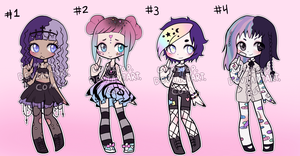 Creepy Cutie Adopts CLOSED by LumiPop