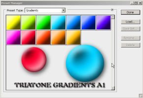 triatone gradients a1 by feniksas4