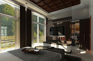Green Cove BSD interior_master bedroom 01 by vaD-Endz