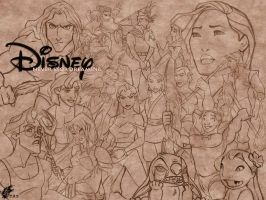 Disney - Never Stop Dreaming by davidkawena