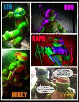 TMNT - Action Shots by GarrettByers