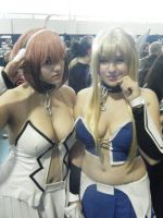 Ikaros and Astrea by ZazCosplay