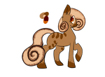 Cinnamon-Themed Pony Point Adopt OPEN by Adoptables-ForDays