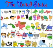 The United States by Sosido