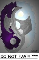 Yin-Yang Dragon by Flame1111 by Cool-People-Club