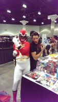 Megaforce Red and Andrew Gray by V1EWT1FUL