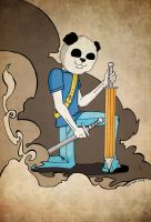 Panda Warrior by SIN-BIN