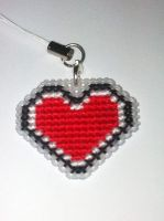 LoZ Valentine's Day Charm Cross Stitch by bittykitty
