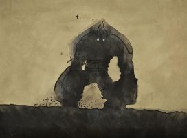 Shadow of the Colossus by cameronchaple