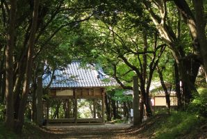 Matsuo Temple by taeliac