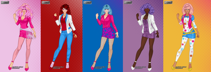 Jem And The Holograms by Shokka-chan