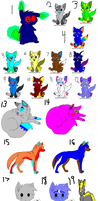 SUPER CHEAP ADOPTS by MephilesfanforSRB2