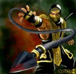 MK Tribute - Scorpion (Deadly Alliance) by arhumn