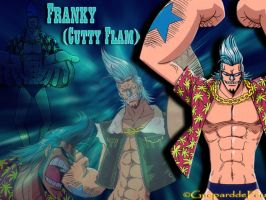 Wallpaper Franky by GueparddeFeu