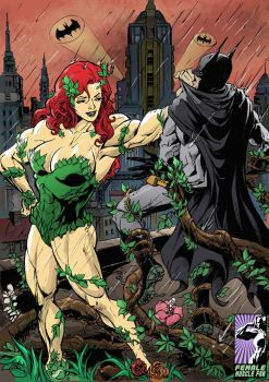 Pumped Up Poison Ivy by muscle-fan-comics