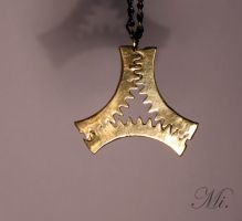 Steampunk pendant 49 by TheCraftsman
