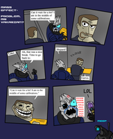 Mass Effect - Problem, Mr Vakarian? by Finjix