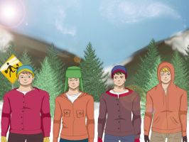 South Park by adderalleri