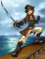 Pirate Sora by Saehral