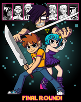 Scott Pilgrim Final Round by NicParris