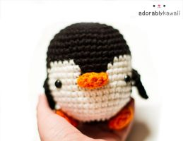 Black and white penguin amigurumi 2 by adorablykawaii
