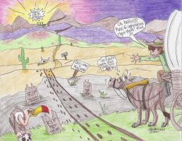 Beatles - On the Oregon Trail by TheAbbeyRoadie