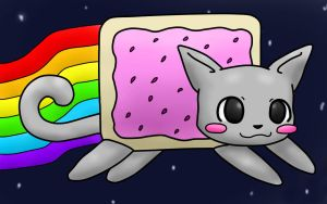 .:Nyan Cat:. by SqueakFace