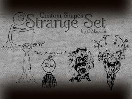 Strange Set - Custom Shapes by omaolain