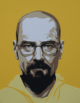 Paper Walter White by tripperfunster
