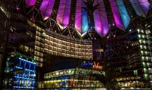 Berlin - Sony Center a Night by pingallery