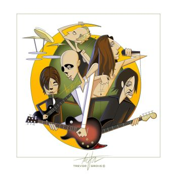 A Perfect Circle Caricatures by TrevorGrove