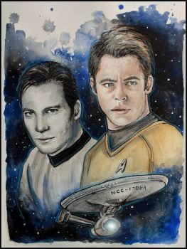 James T. Kirk by SallyGipsyPunk