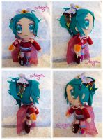 FFantasy 6 - Terra Plushie by CuteGio