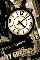 Times Square-4:07 PM by galipwolkan