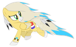 Jo-Jo Running MLP OC Vector by LyraKitty